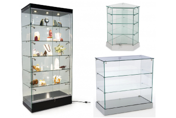 Glass Display Showcase
