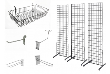 Grid-wall Display and Accessories